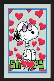 Poster - Peanuts Snoopy in Love