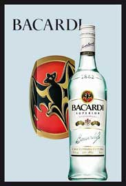 Poster - Bacardi Bottle