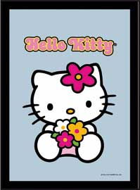 Poster - Hello Kitty Flowers
