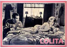 Poster - Lolita Sitting On Bed