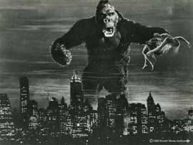 Poster - King Kong Black and White