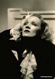Poster - Dietrich, Marlene Black and White