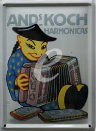 Poster - Hohner Chinese
