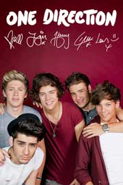 One Direction Maroon