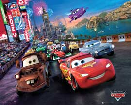 Poster - Cars Race