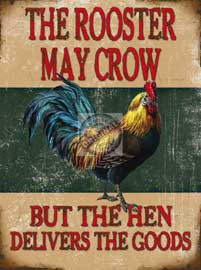 Poster - Farming The Rooster May Crow
