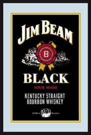 Poster - Jim Beam Black Logo