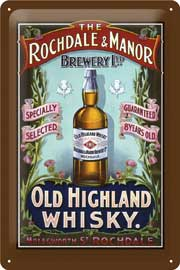 Rochdale & Manor Old Highland Whiskey