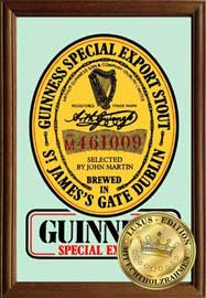 Poster - Guiness