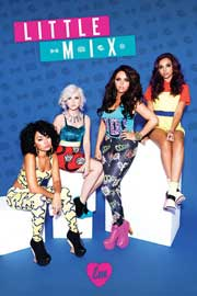 Little Mix Blue Mix