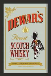 Poster - Dewars Scotch Whisky