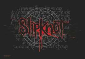 Poster - Slipknot Splattered
