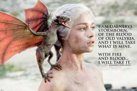Game of Thrones Dragon - Daenerys Targaryen