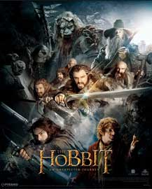 Poster - Hobbit, The Dark Montage