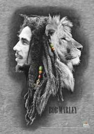 Poster - Marley, Bob Lion Face