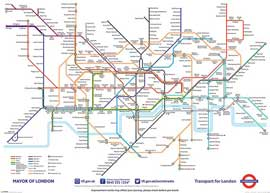 Poster - London Underground Map