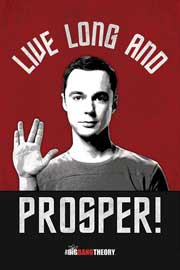 Big Bang Theory, The Live Long And Prosper