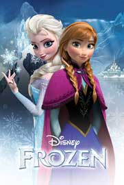 Poster - Frozen Anna And Elsa