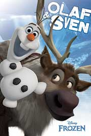 Poster - Frozen Olaf And Sven