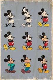 Disney Mickey Mouse Evolution