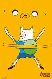 Poster - Adventure Time Bro Hug