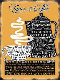 Poster - Coffee Types