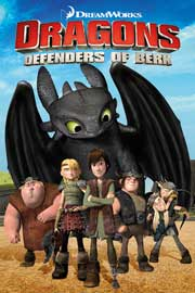 Poster - Dragons Drachenreiter  Defender of Berk