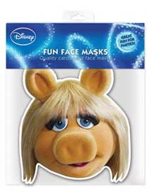 Poster - Muppets, The Miss Piggy - Maske