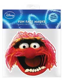 Poster - Muppets, The Animal - Maske