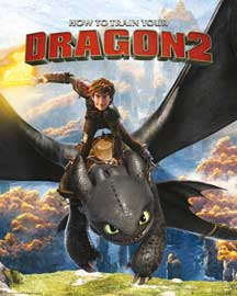 Poster - Dragons How to Train Your Dragon 2 - Rocks