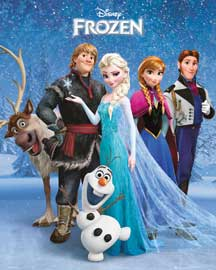 Poster - Frozen Group