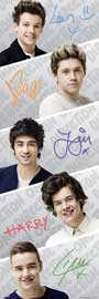 Poster - One Direction Band Global