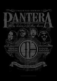 Poster - Pantera  High Noon Your Doom