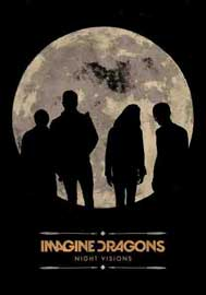 Poster - Imagine Dragons Howling Moon
