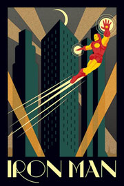 Poster - Marvel Deco - Iron Man