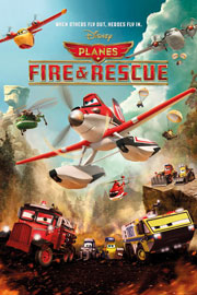 Poster - Planes Fire and Rescue – Action