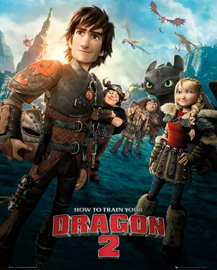 Poster - Dragons How to Train Your Dragon 2 - One Sheet
