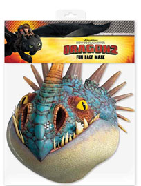 Poster - Dragons  How to Train Your Dragon - Nadder - Maske