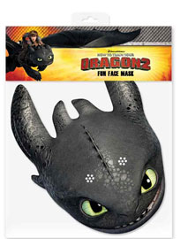 Poster - Dragons  How to Train Your Dragon – Toothless  - Maske