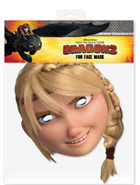 Poster - Dragons  How to Train Your Dragon - Astrid - Maske