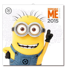 Poster - Despicable Me Minion Kalender 2015