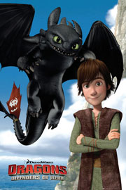 Poster - Dragons Defenders of Berk – Toothless
