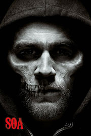 Poster - Sons of Anarchy Jax Skull