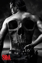 Poster - Sons of Anarchy Jax Back