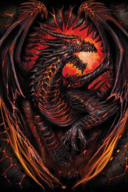 Poster - Spiral Dragon Furnace