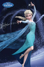 Poster - Frozen Elsa Let It Go