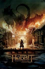Poster - Hobbit, The BOTFA Smaug