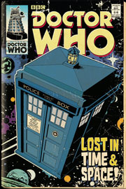 Poster - Doctor Who Tardis Comic