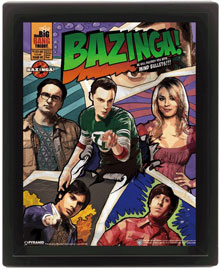 Big Bang Theory, The Comic Bazinga