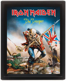 Poster - Iron Maiden The Trooper